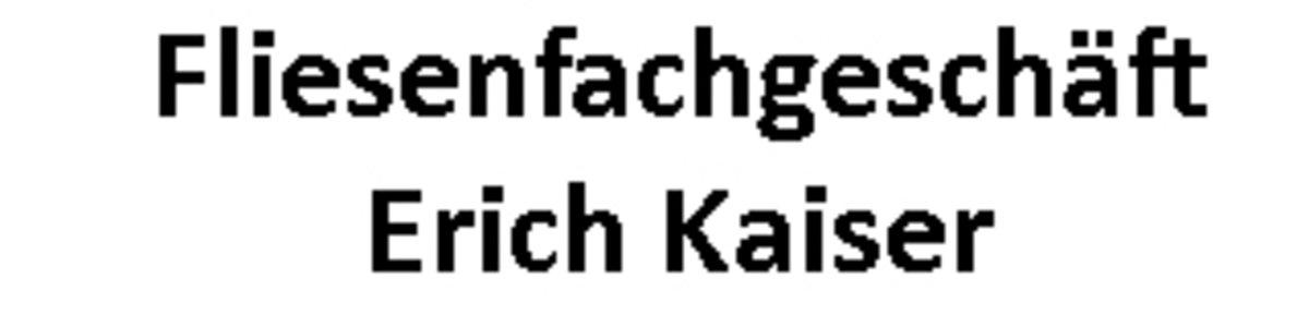 Fliesenfachgeschäft Erich Kaiser