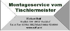 Montageservice vom Tischlermeister