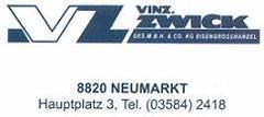 V. Zwick Eisengroßhandel