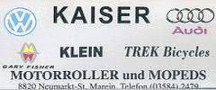 VW Audi Kaiser
